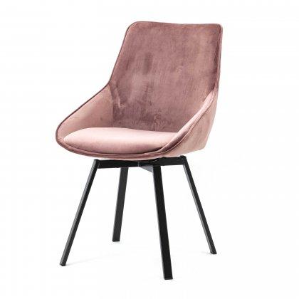 Huis Maison Bogaert BRENDA chaise tournate - Rose