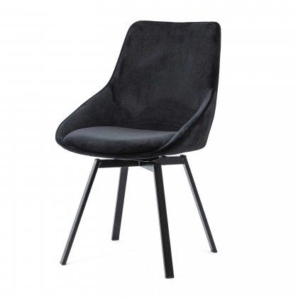 Huis Maison Bogaert BRENDA chaise tournate - Noir