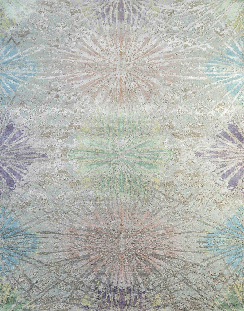 Design Handgeknoopt tapijt