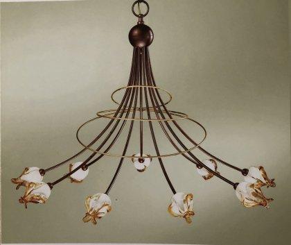 Huis Maison Bogaert Luster COMO - 6 lampen rond