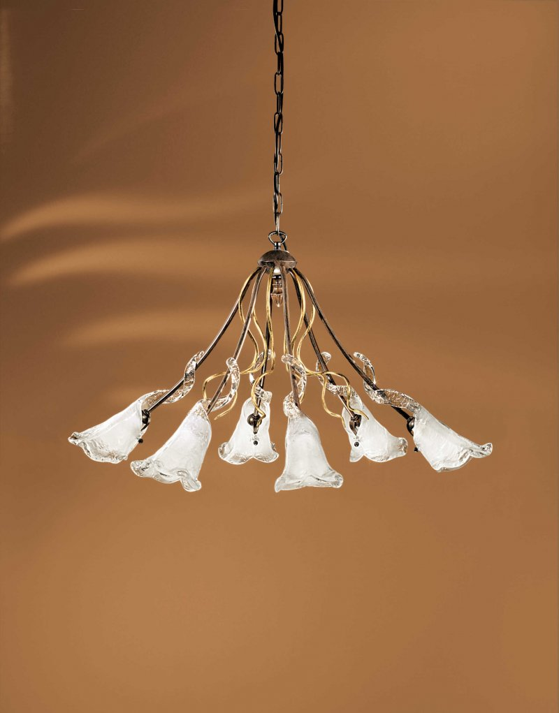 Luster NOLA - 6 lampes - rond
