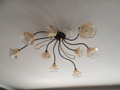Huis Maison Bogaert Plafonier ROMA - 9 lampes - rond