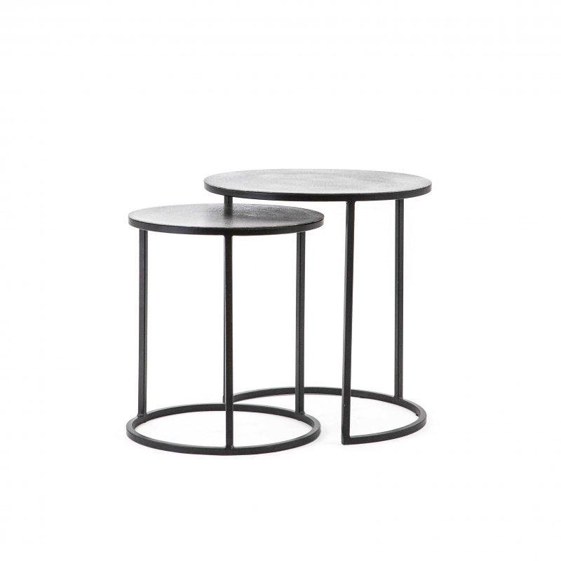 Set petites tables - Iron