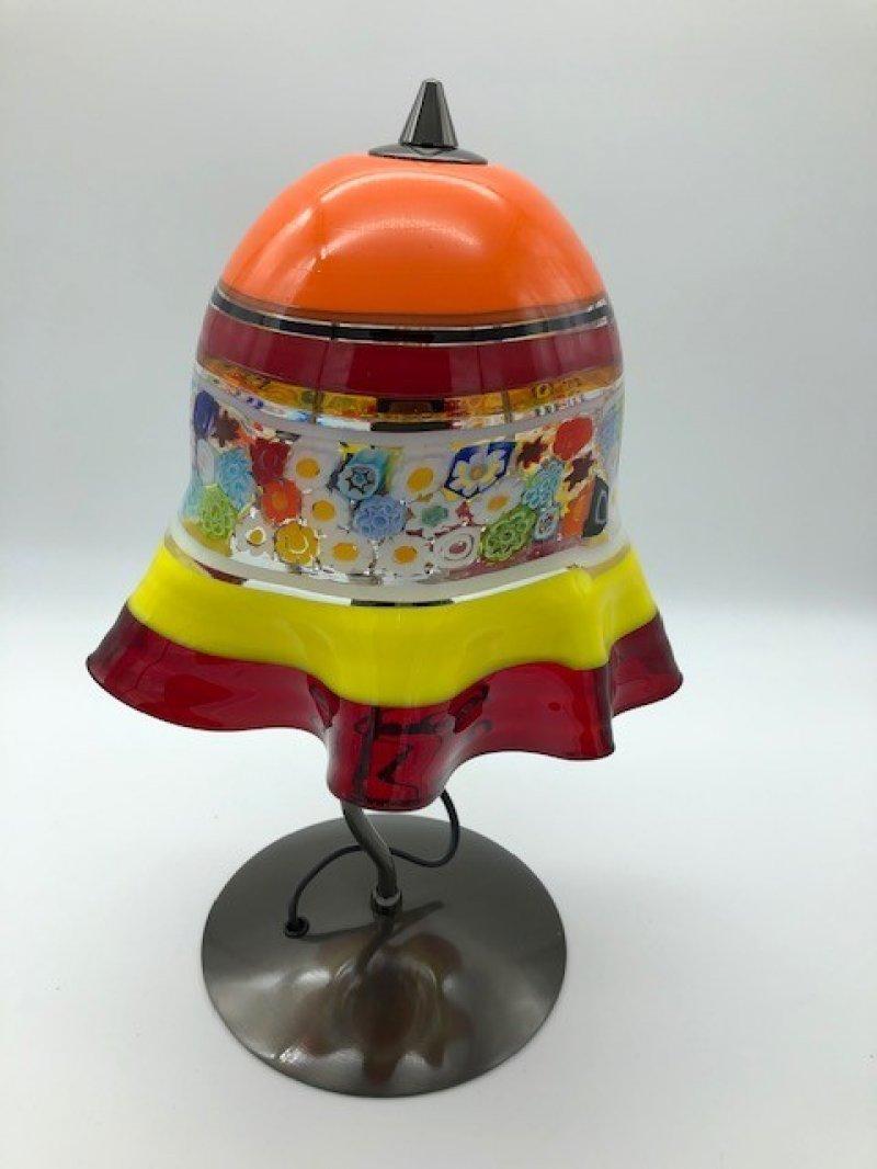 Tafellamp FIORI oranje