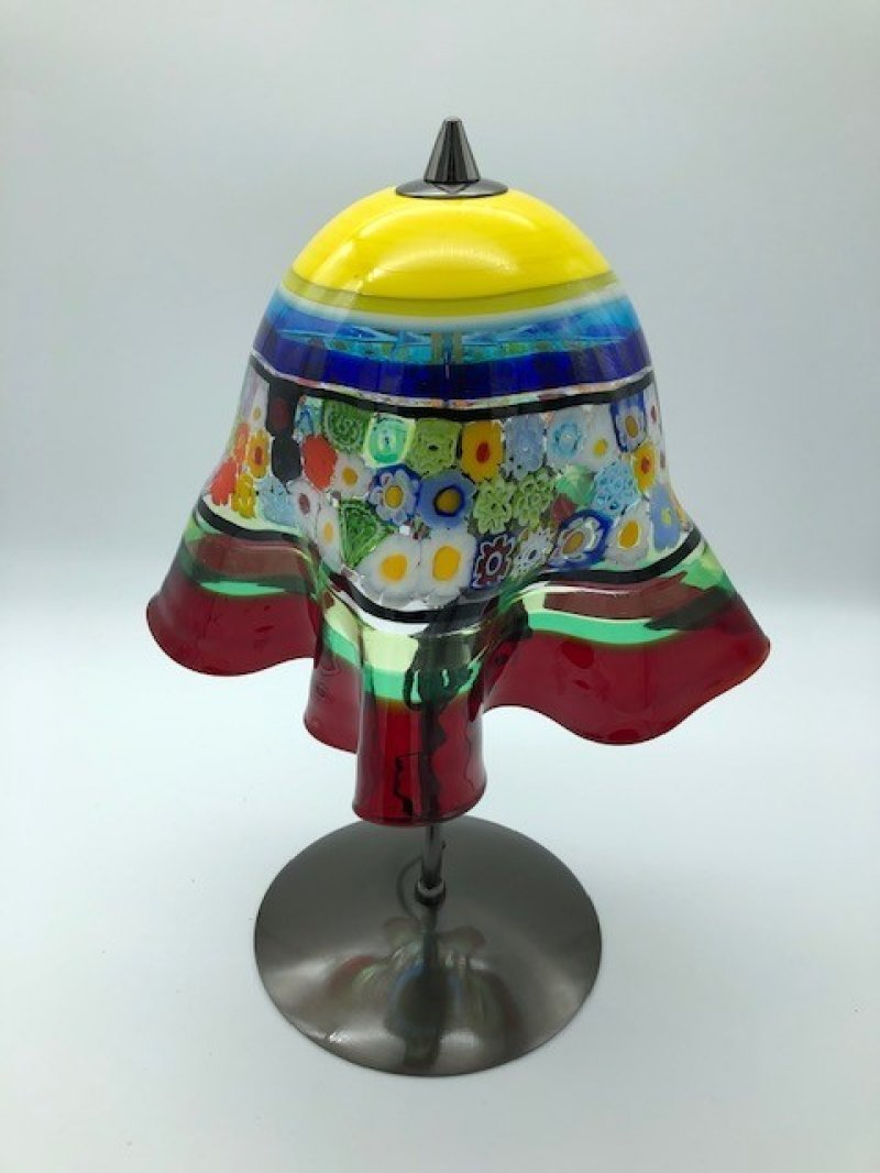 Tafellamp FIORI geel