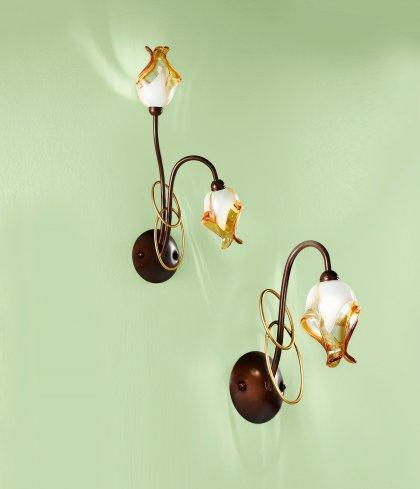 Huis Maison Bogaert Wandlichten COMO 1 lamp / 2 lampen